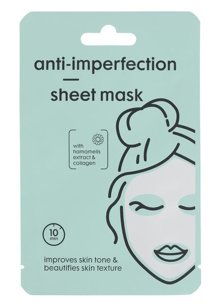 sheetmasker anti-imperfection - 17860202 - HEMA