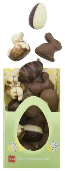 luxury Easter chocolates mix 180 grams - 10096005 - hema