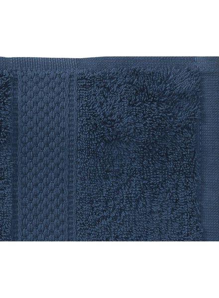 towel - 50 x 100 cm - heavy quality - denim plain denim towel 50 x 100 - 5240180 - hema