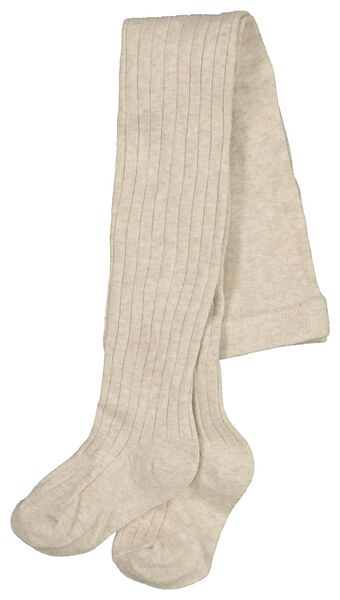 children's leggings ribbed beige beige - 1000020489 - hema
