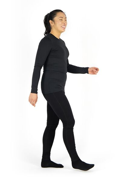 women's sports leggings black black - 1000017834 - hema
