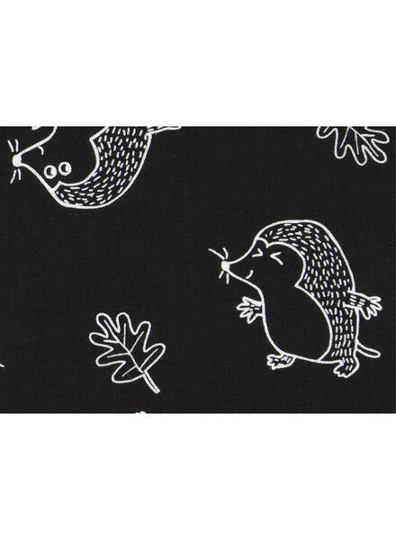 body pour bébé en bambou noir noir - 1000015353 - HEMA
