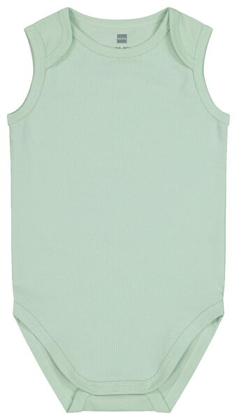 bodysuit organic cotton stretch mint green mint green - 1000017814 - hema