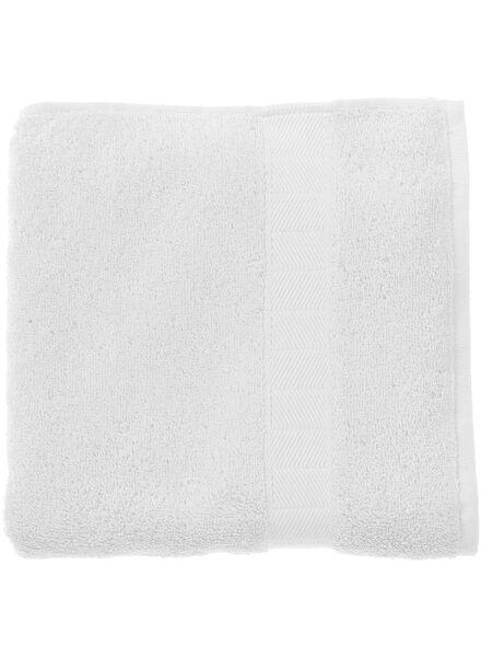 serviette de bain - 60x110 cm - qualité épaisse - blanc blanc serviette 60 x 110 - 5213600 - HEMA