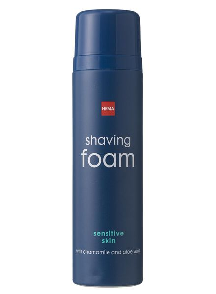 mousse de rasage peau sensible - 11722062 - HEMA
