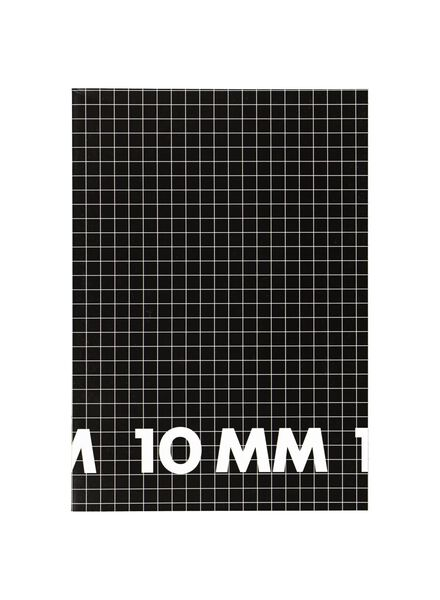 3 Hefte DIN A4, kariert 10 mm - 14101619 - HEMA