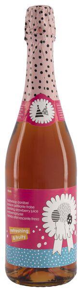 boisson pétillante - goût fraise - 0.75 L - 10200007 - HEMA