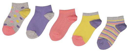 5-pack children's ankle socks multi multi - 1000018418 - hema