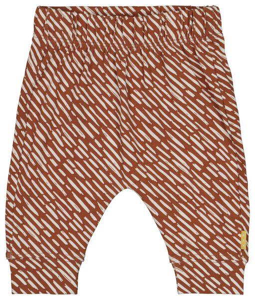 newborn trousers brown brown - 1000018728 - hema