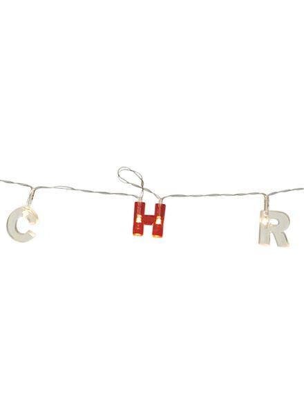 LED verlichting merry christmas - 25510116 - HEMA