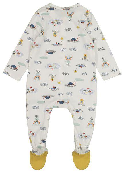 newborn jumpsuit white white - 1000017765 - hema