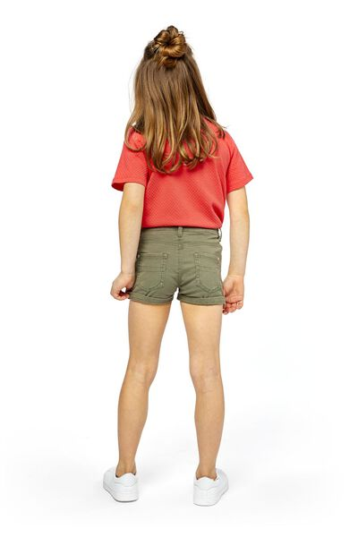 Kinder-Shorts graugrün graugrün - 1000018503 - HEMA