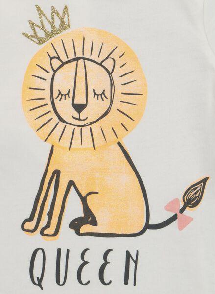 Baby-T-Shirt eierschalenfarben eierschalenfarben - 1000019272 - HEMA