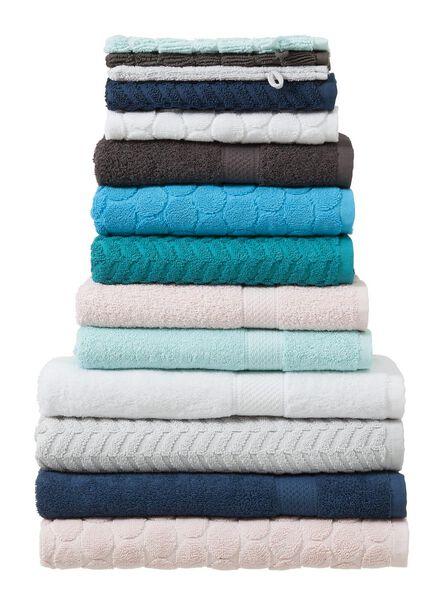 serviette de bain - 50x100 cm - qualité épaisse - gris foncé gris foncé serviette 50 x 100 - 5212602 - HEMA
