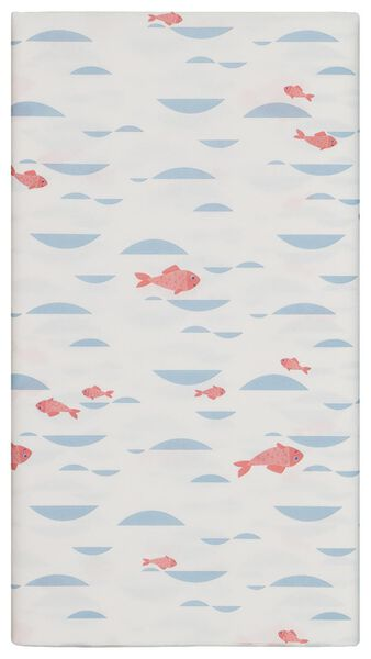 tablecloth paper 138x220 fishes - 14200332 - hema