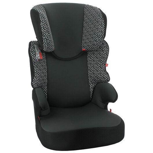 siège auto junior 15-36 kg pois noirs/blancs - 41700006 - HEMA