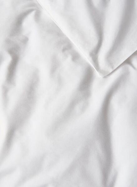 housse de couette-hôtel percale de coton-200x200/220cm-blanc - 5700176 - HEMA