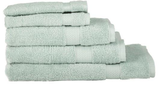 serviettes de bain - qualité épaisse vert clair vert clair - 1000015745 - HEMA