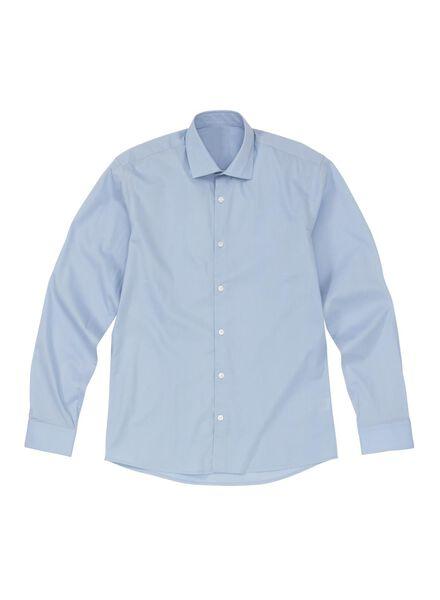 HEMA Chemise Homme Slim Fit Bleu Clair (lichtbleu )