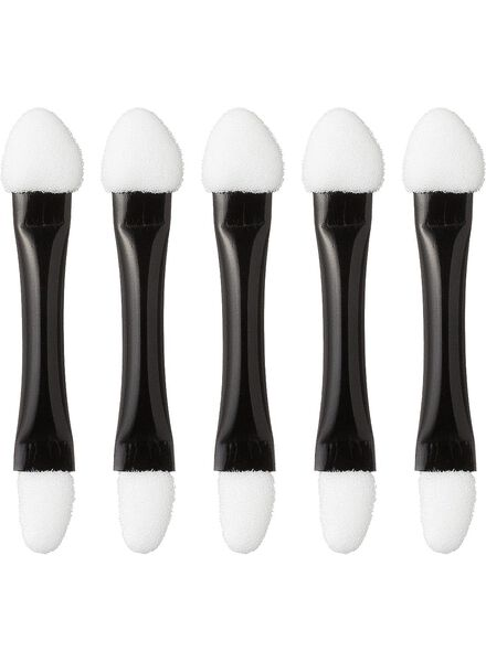 duo eyeshadow applicators (x5) - 11200533 - HEMA