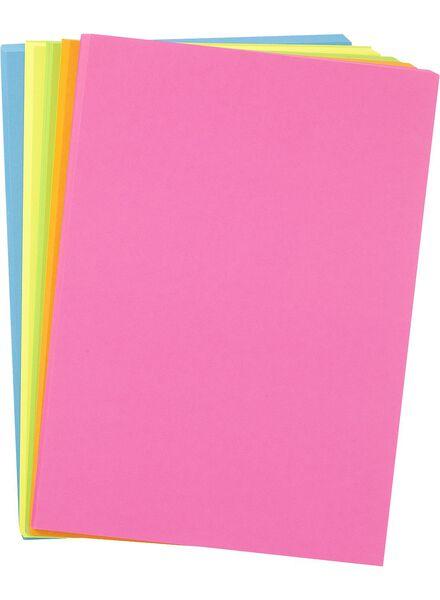 papier imprimante néon - 14811042 - HEMA