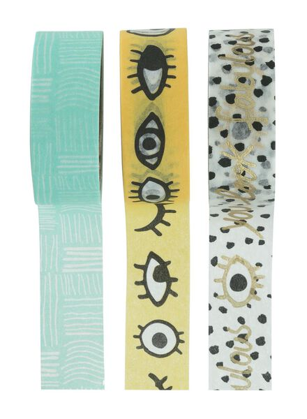 3-pack washi tape - 14160197 - hema
