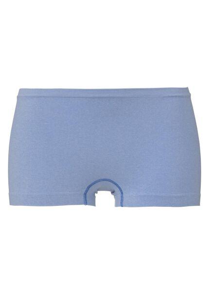 women's seamless boxer shorts light blue light blue - 1000008027 - hema