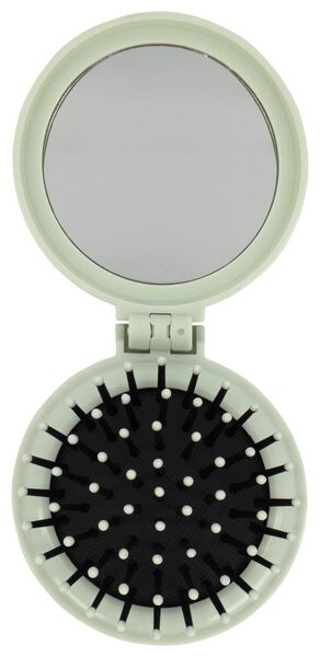 brosse avec miroir Ø6.5cm palmier - 61140203 - HEMA
