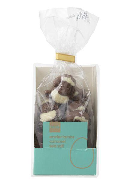 milk chocolate Easter lambs with caramel and sea salt - 10069914 - hema