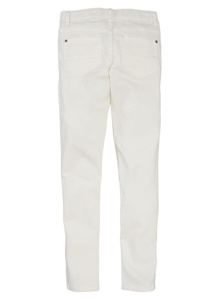children's skinny trousers white white - 1000005907 - hema