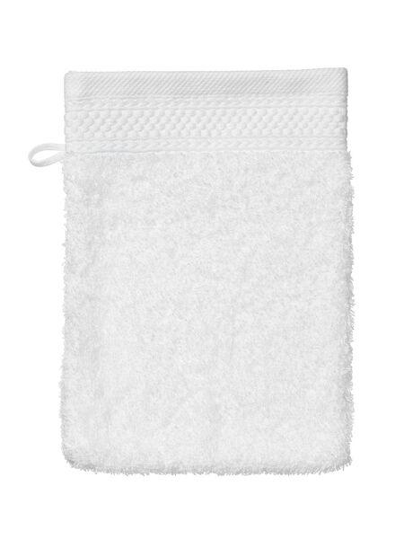 gant de toilette - hôtel extra épais - blanc uni blanc gant de toilette - 5235010 - HEMA