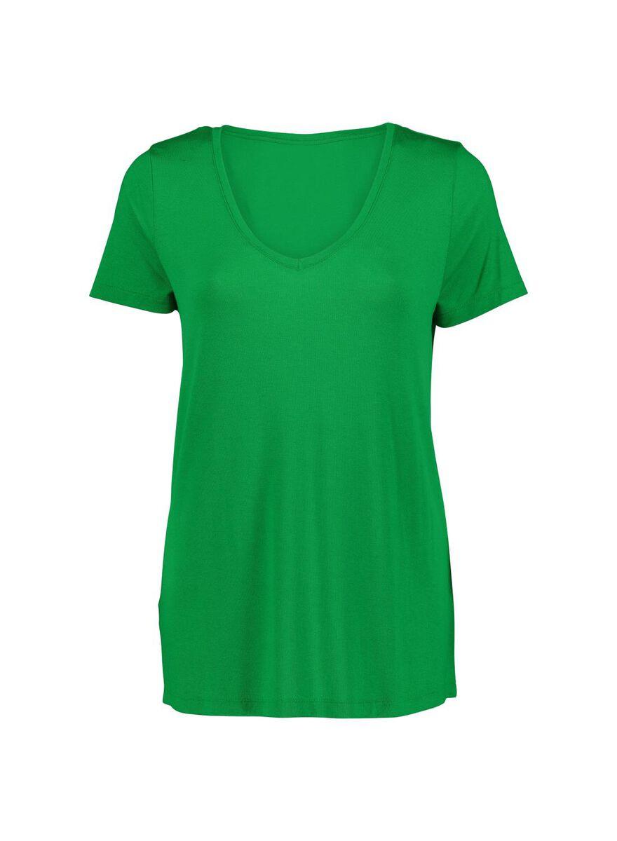 94f3c8fdc7a15 Abbildungen Damen-T-Shirt grün grün - 1000013717 - HEMA