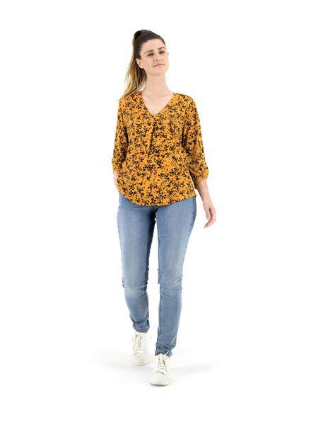 women's top yellow yellow - 1000014849 - hema