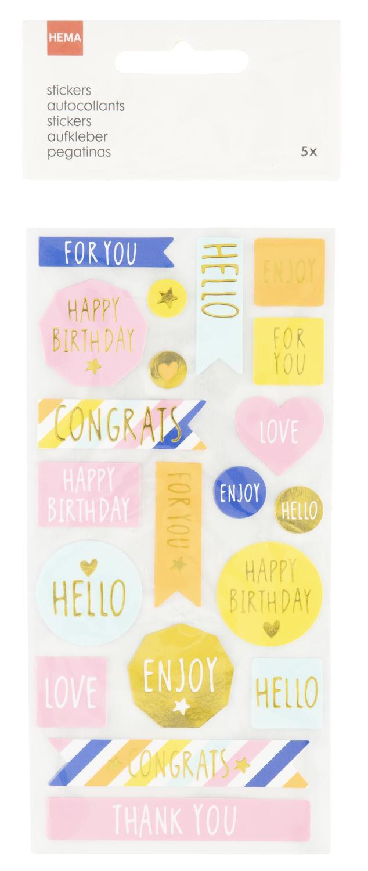 joli cadeau d/'anniversaire Happy 20ème anniversaire sur chaussettes rose clair