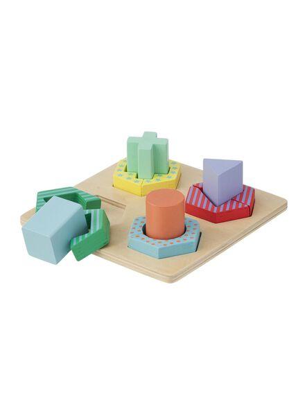 wooden stack puzzle - 15110211 - hema