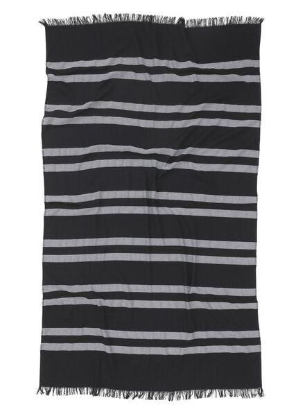hammam cloth 90 x 160 cm black 90 x 160 - 5210044 - hema