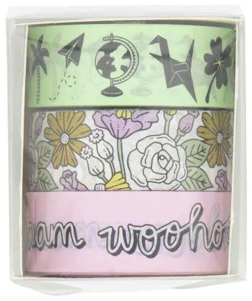 3 washi tapes - 14132402 - hema