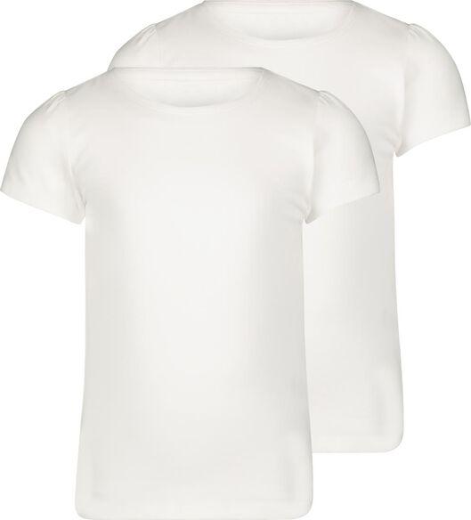 HEMA 2er-Pack Kinder-T-Shirts Weiß