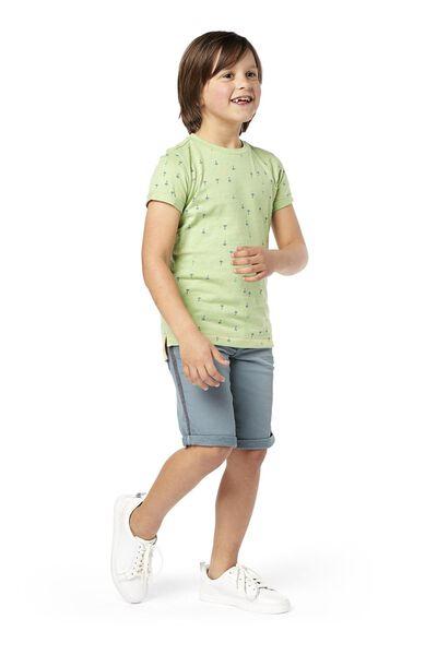 Kinder-T-Shirt grün grün - 1000019151 - HEMA
