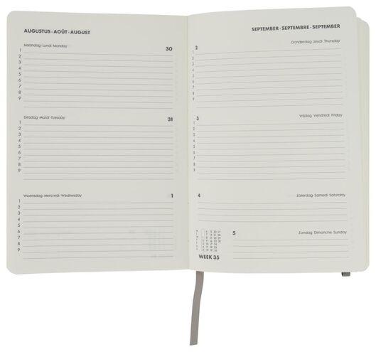 Schülerkalender 2021-2022, braun, DIN A5, 21.4 x 15 cm - 14500512 - HEMA
