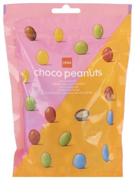 chocolate peanuts 240 grams - 10380039 - hema