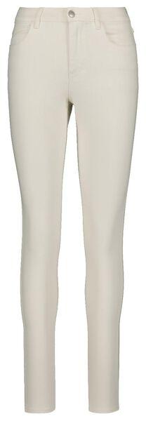 women's jeans - skinny fit off-white off-white - 1000018246 - hema