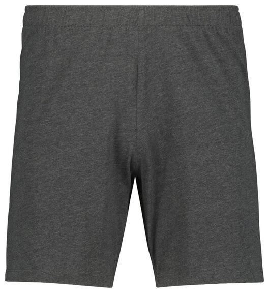 pyjacourt homme gris foncé gris foncé - 1000019189 - HEMA