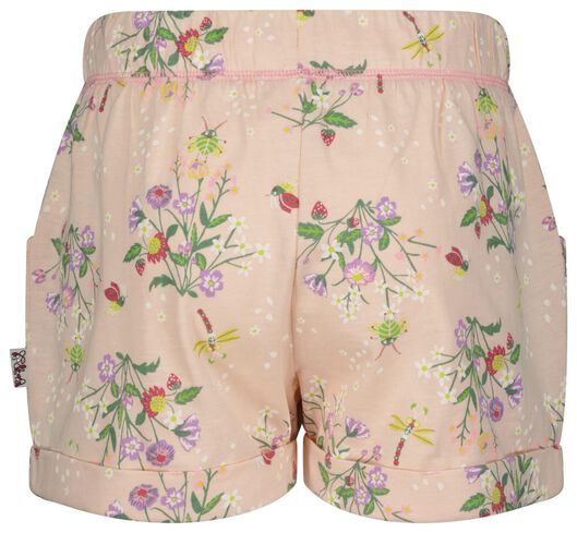 Kinder-Shorts, Blumen rosa 86/92 - 30847826 - HEMA