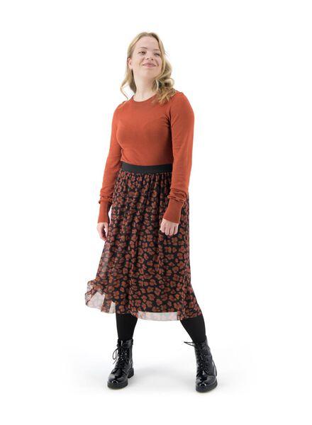 Damen-Pullover braun braun - 1000017067 - HEMA