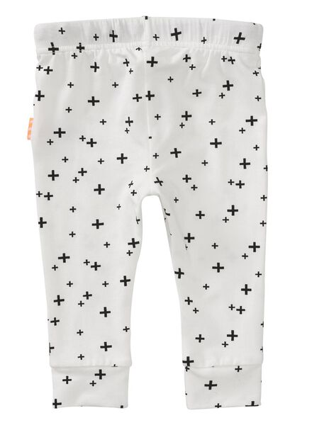newborn trousers - bamboo off-white off-white - 1000005669 - hema