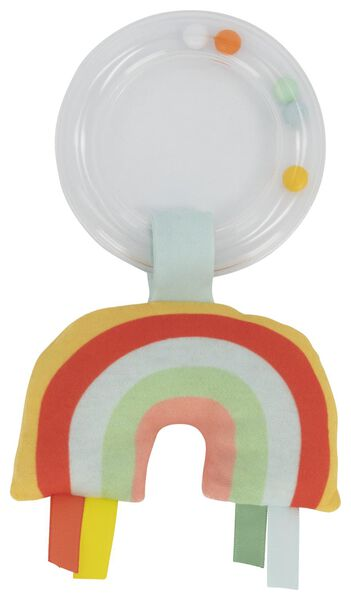 Image of HEMA Baby Rattle Rainbow (red)