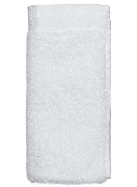 petite serviette - 33x50 cm - ultra doux - blanc - 5207001 - HEMA
