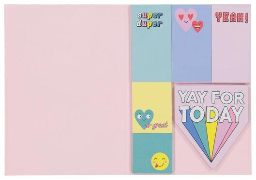 sticky notes - 6 stuks - 14502307 - HEMA