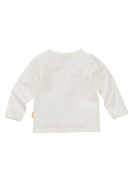 newborn T-shirt off-white off-white - 1000005647 - hema
